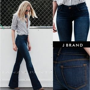 J Brand Love Story jeans flare high rise 28 x 30